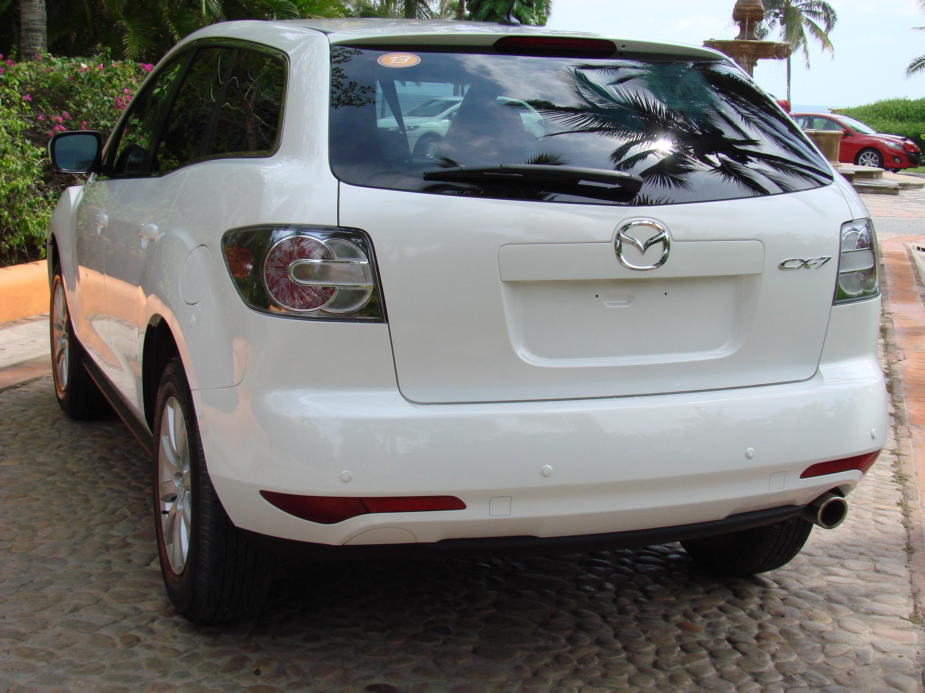 Nueva versión 2.5 litros de crossover Mazda CX-7 2010 para ...