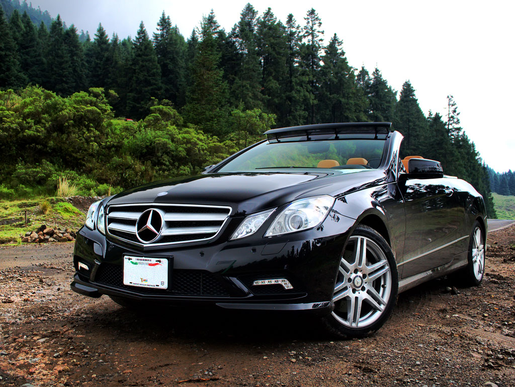 Mercedes Benz E500 Convertible 2011 A Prueba