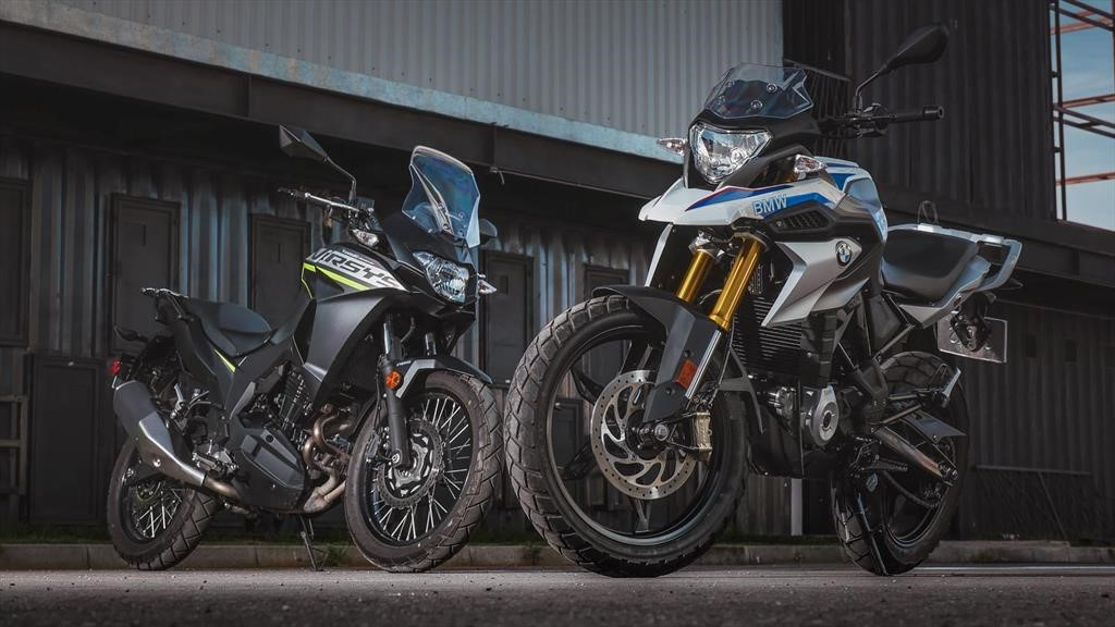 BMW G 310 GS vs Kawasaki Versys-X 300