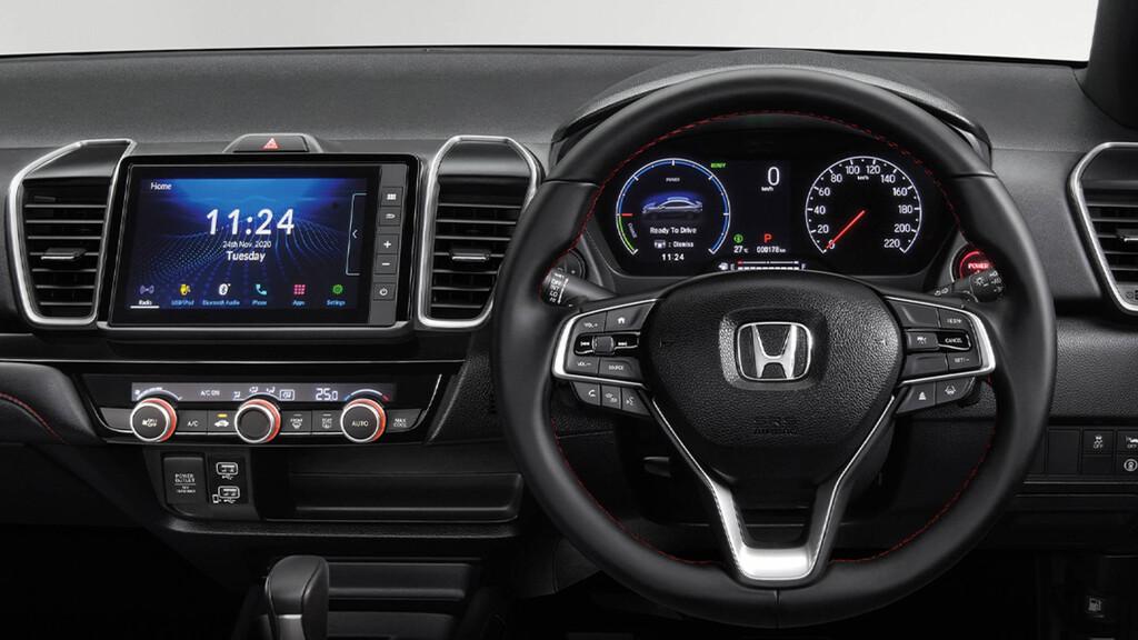 Honda City 2021 ya se deja ver en Brasil