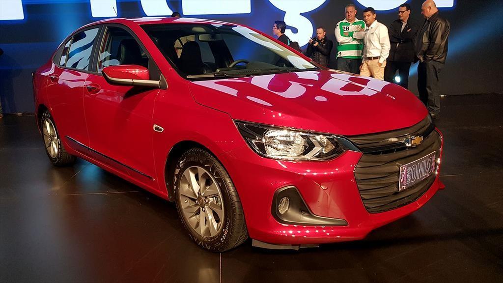 Chevrolet Onix contacto en Brasil