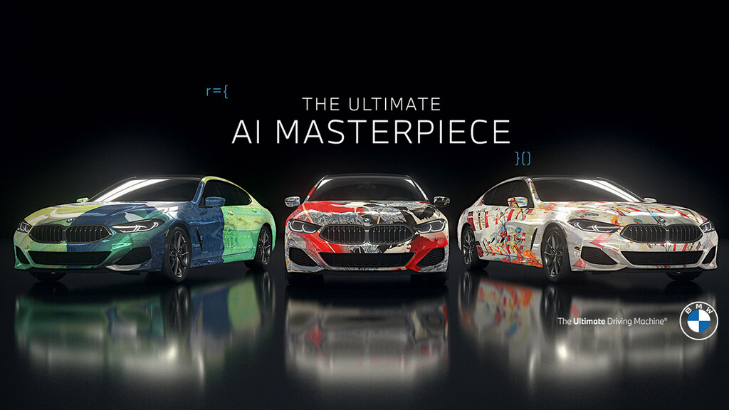 BMW - The Ultimate AI Masterpiece 2021