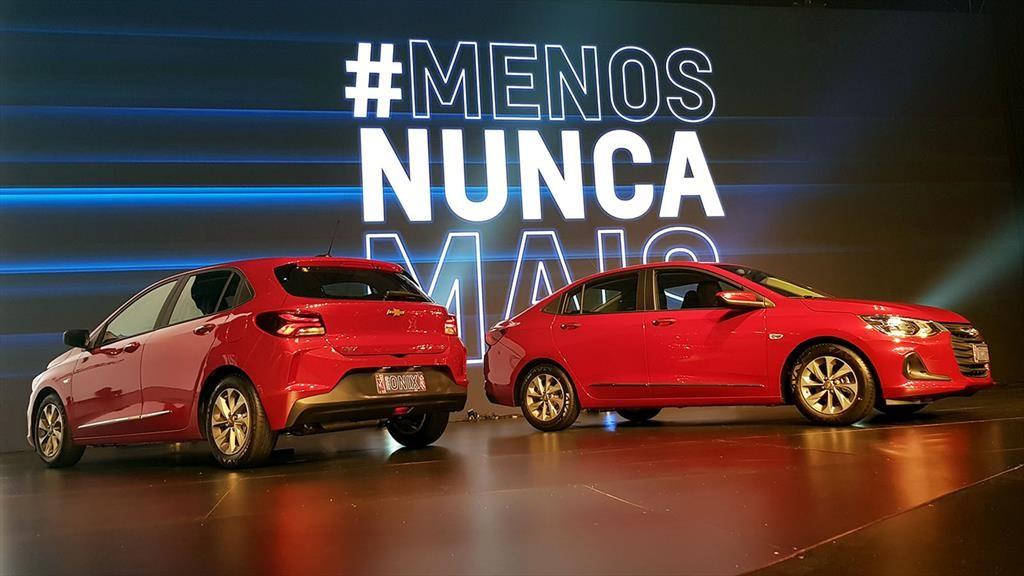 Chevrolet Onix y Onix Plus, lanzamiento en Brasil
