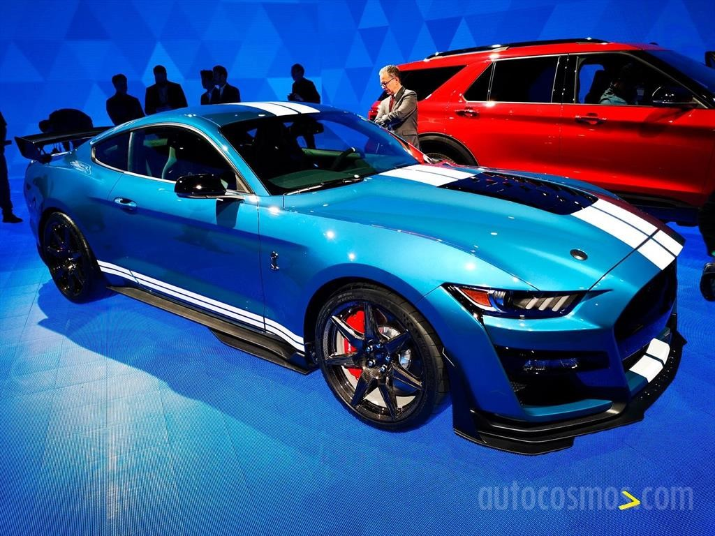 Ford Mustang Shelby Gt500 2020 Autocosmos Com
