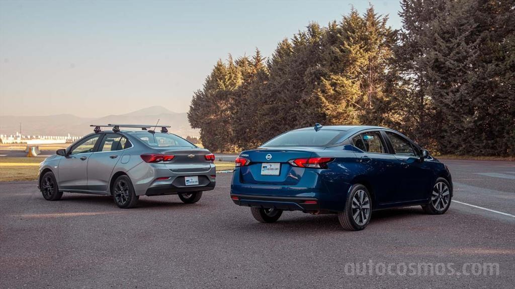 Chevrolet Onix vs Nissan Versa