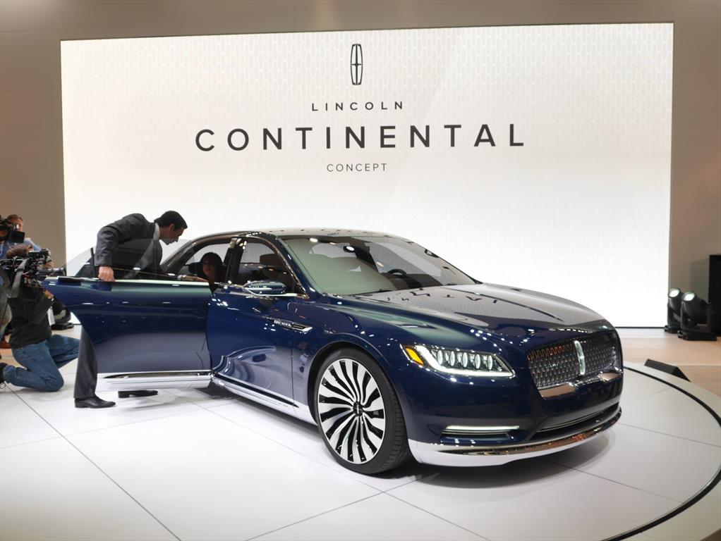auto show de nueva york 2015 lincoln continental concept. Black Bedroom Furniture Sets. Home Design Ideas