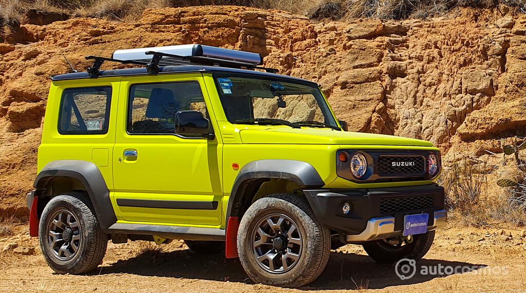 Suzuki Jimny 2021 a prueba