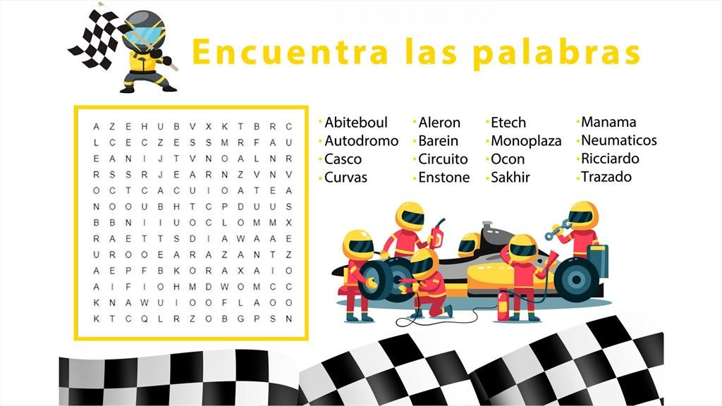 Material didáctico Renault F1