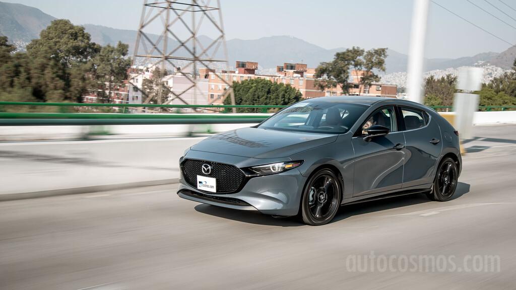 Mazda3 Turbo 2021 a prueba