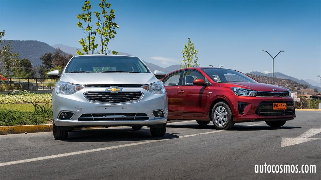 Comparativa Kia Soluto vs Chevrolet Sail