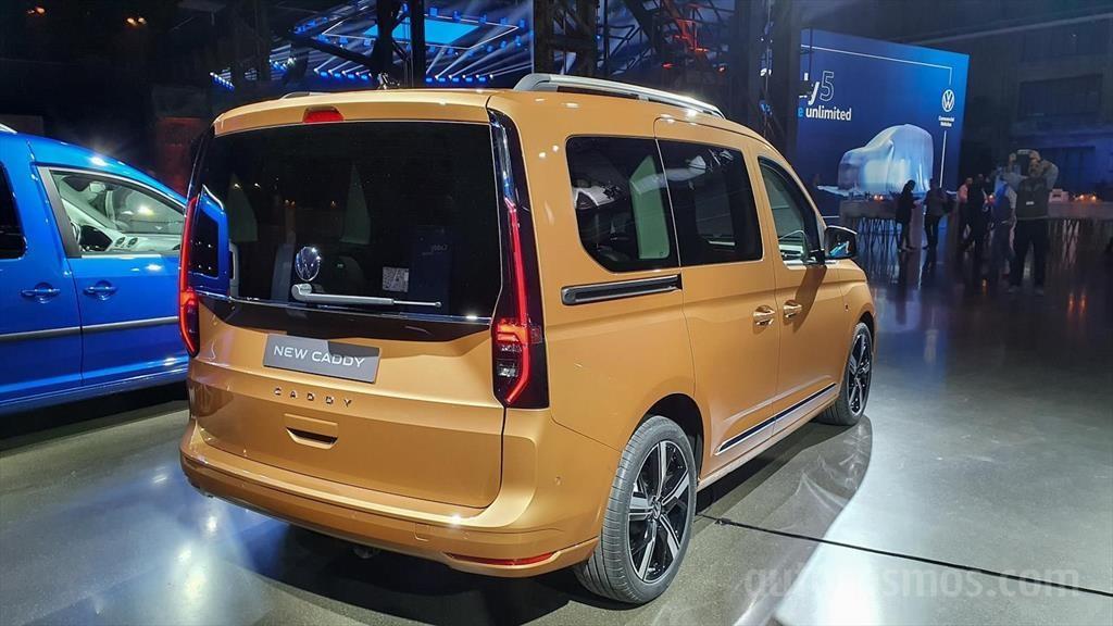 Volkswagen Caddy 2021 - Autocosmos.com