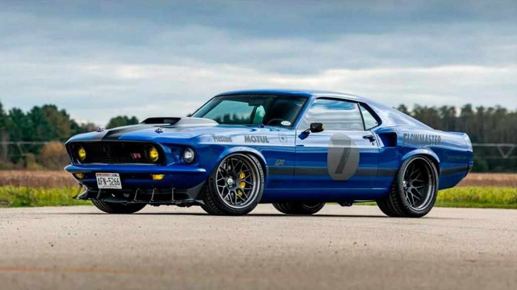 Ford Mustang Mach 1 1969 por Ringbrothers