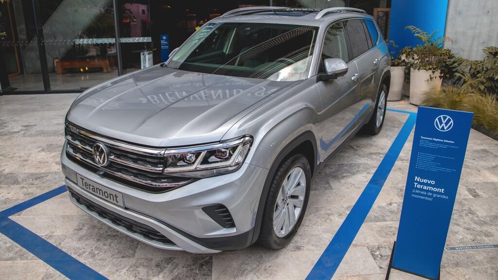 Volkswagen Teramont - lanzamiento Colombia