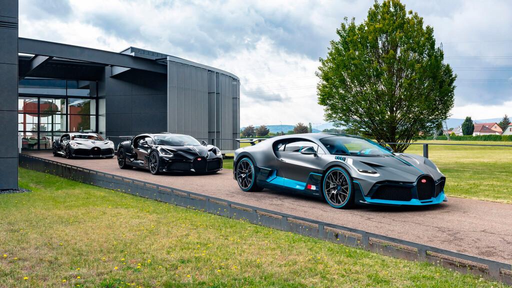 Los primeros 40 Bugatti Divo