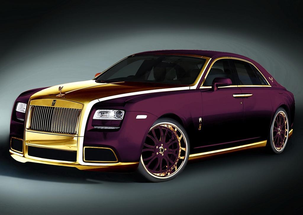 Rolls Royce Ghost Purple By Fenice Milano Autocosmos Com