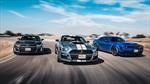 Shelby GT500 vs Challenger Redeye vs Camaro ZL1