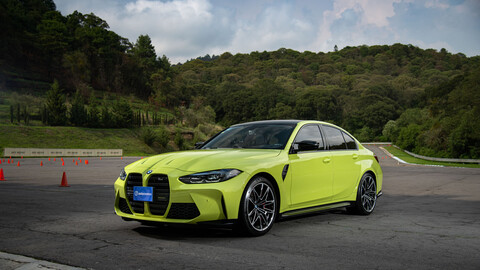 BMW M3 Competition 2022 a prueba