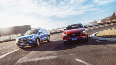 Volkswagen Taos vs Mazda CX-30