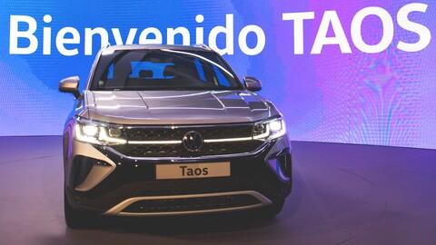 Volkswagen Taos - lanzamiento Colombia