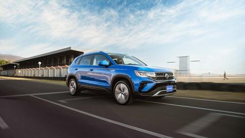 Volkswagen Taos 2021 a prueba