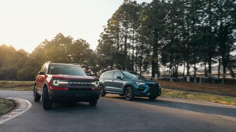 Ford Bronco Sport y CUPRA Ateca