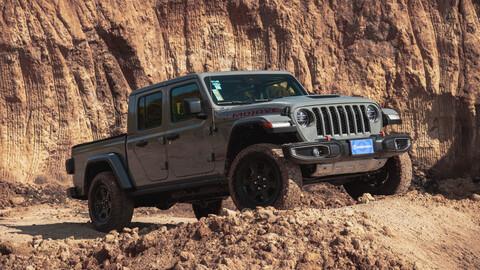 Jeep Gladiator Mojave 2021 prueba