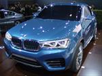 BMW X4 Concept en Los Angeles 2013