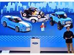 Ford Mustang y Lobo Raptor de LEGO
