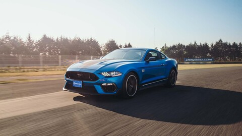 Ford Mustang Mach 1 2021 a prueba