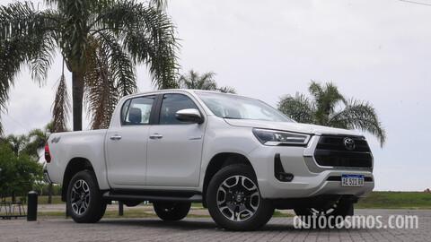 Toyota Hilux 2021 - test