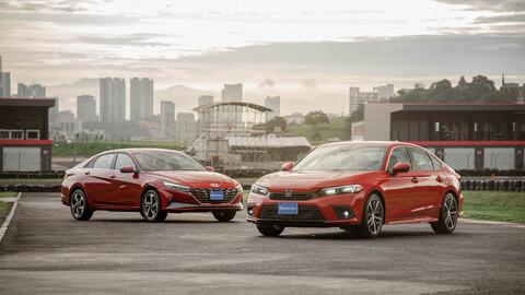 Hyundai Elantra 2022 VS Honda Civic 2022
