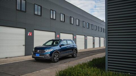Volkswagen T-Cross 2021 prueba