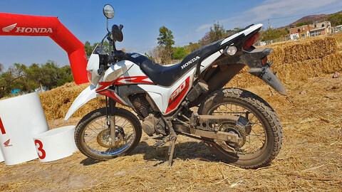 Honda XR190 L, primer contacto
