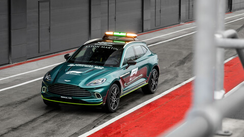 Aston Martin DBX Official Medical Car F1