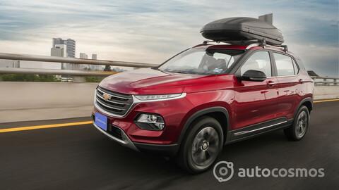 Chevrolet Groove 2022 a prueba