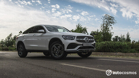 Mercedes Benz GLC Coupe 2021 - Test Drive
