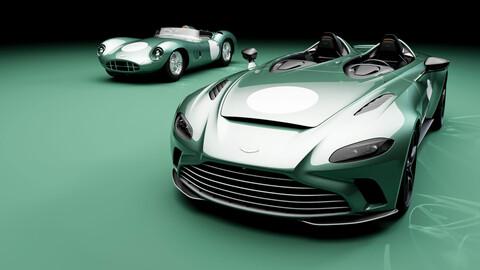 Aston Martin V12 Speedster tributo al DBR1