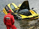 Top 10: Ferrari Enzo cae en el Océano Atlántico