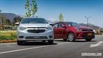 Comparativa Kia Soluto vs Chevrolet Sail