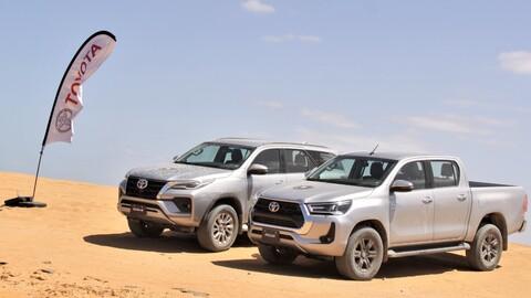 Toyota Hilux 2021 y Toyota SW4 2021 - lanzamiento
