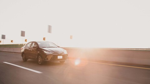 Toyota Yaris Sedán 2021 a prueba