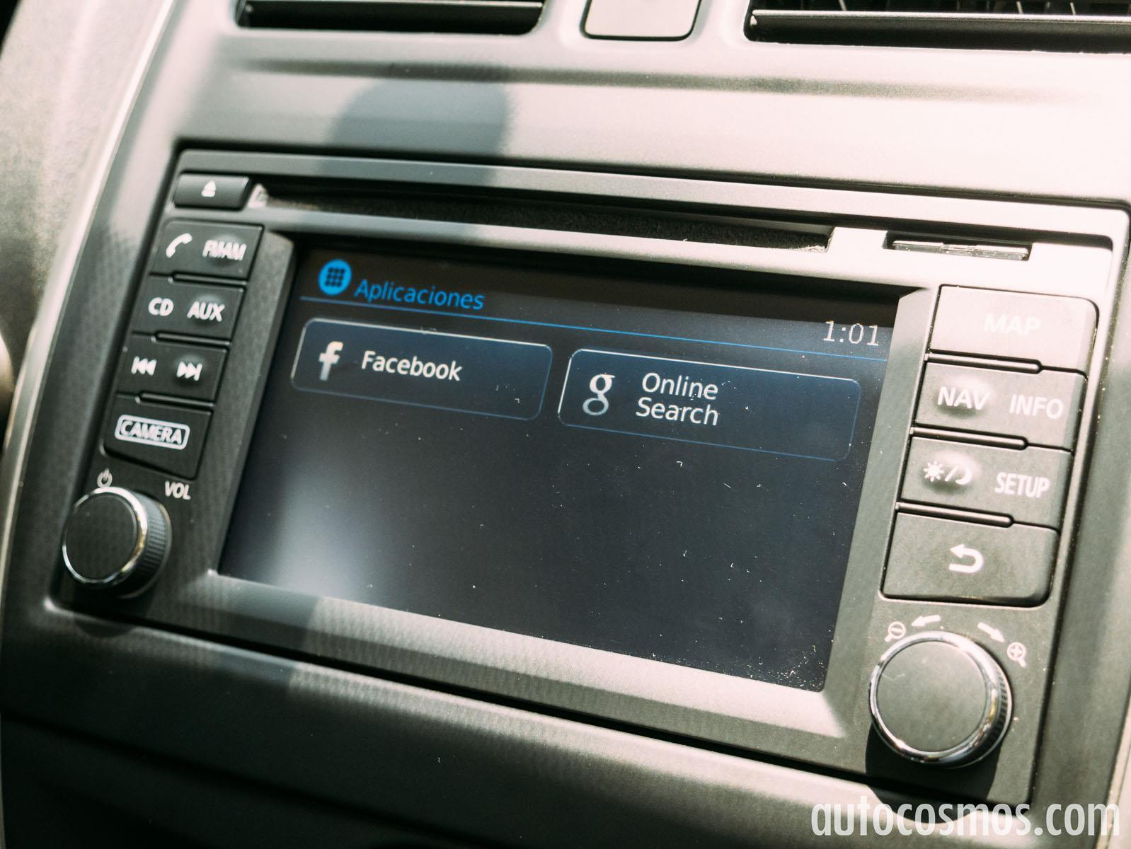 Test de Nissan Versa 2015 - Autocosmos.com
