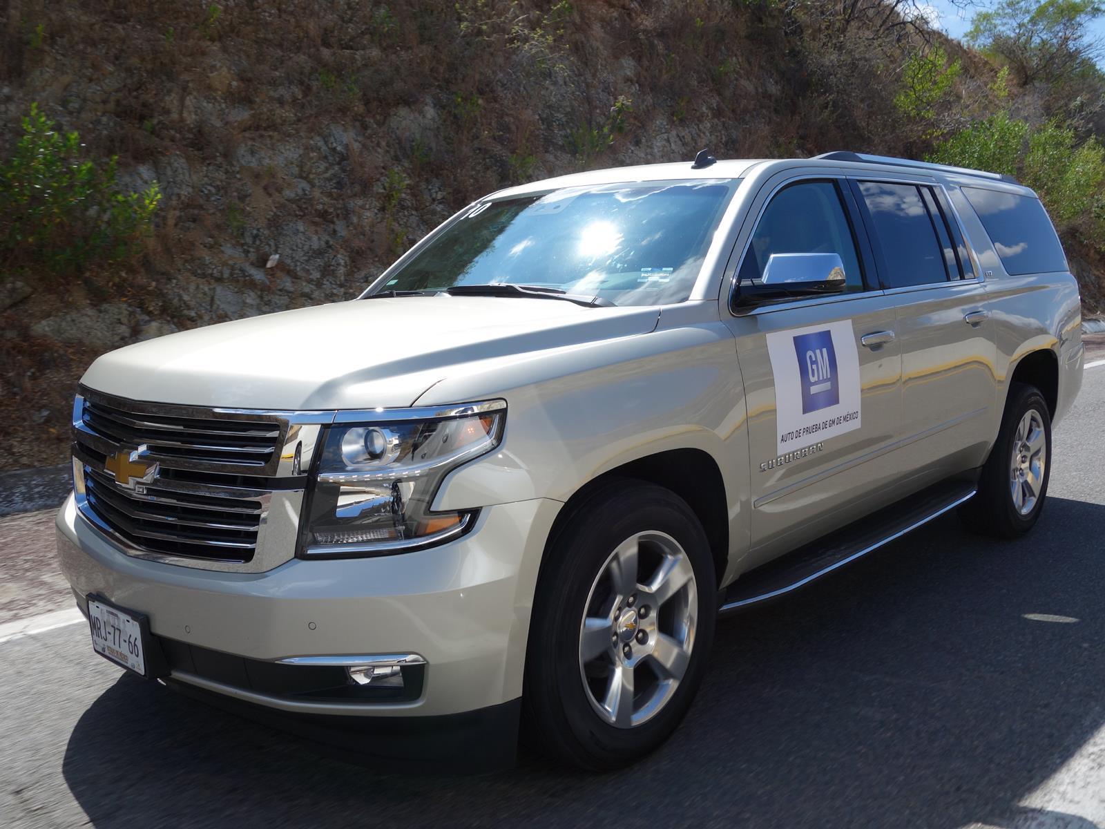 Chevrolet suburban y tahoe 2015 se presentan