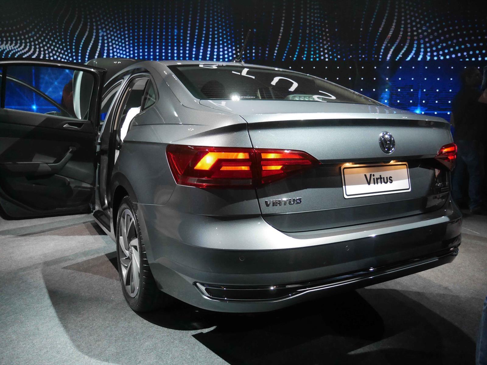 Volkswagen Virtus As 237 Es El Nuevo Sed 225 N Autocosmos Com