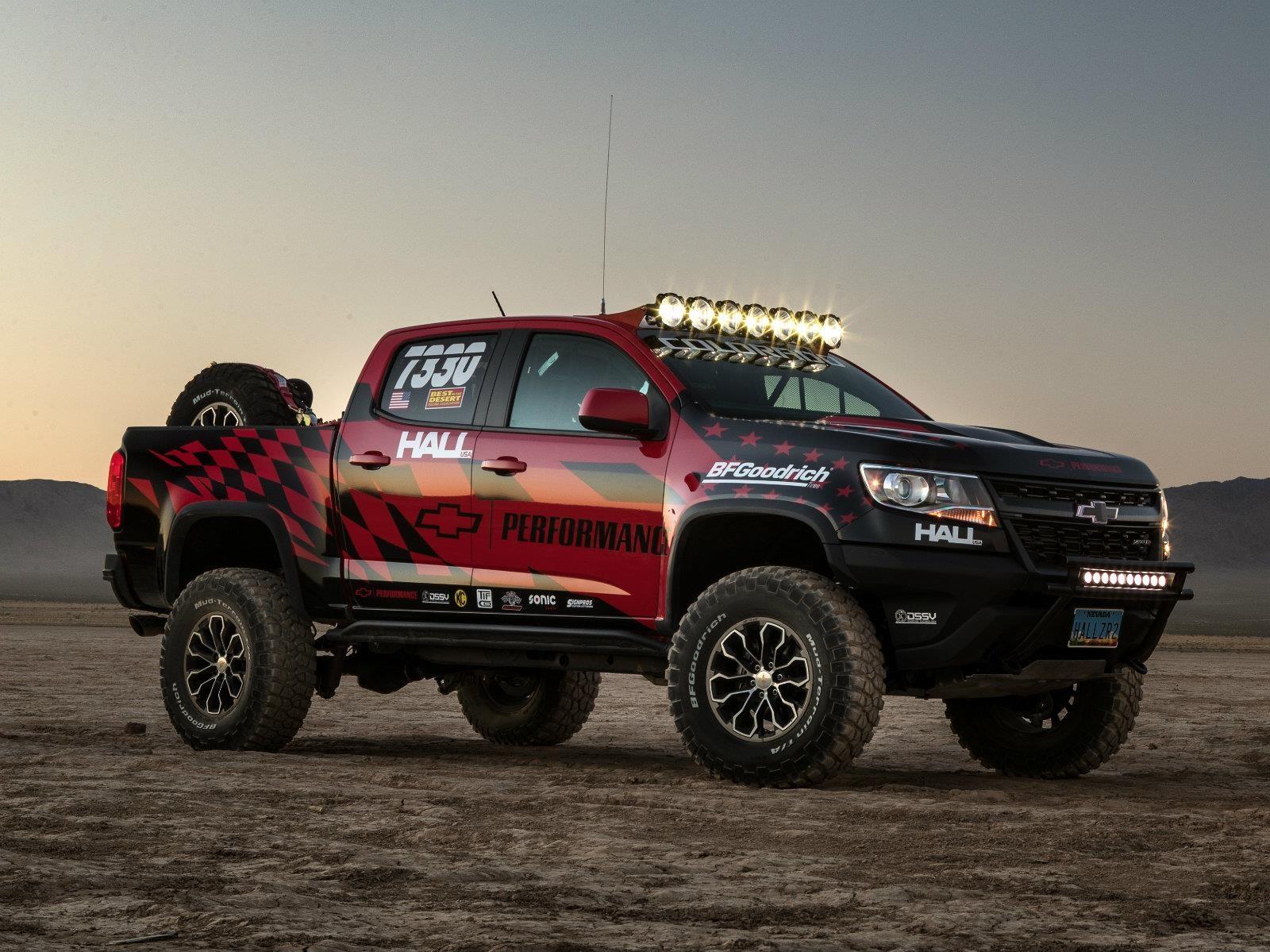 Chevrolet Colorado ZR2 por Hall Racing, lista para ...