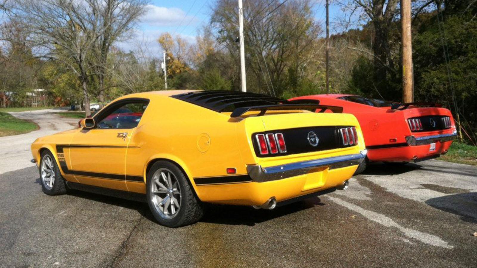Ford Mustang De 1969 Creado Sobre Un Modelo Actual