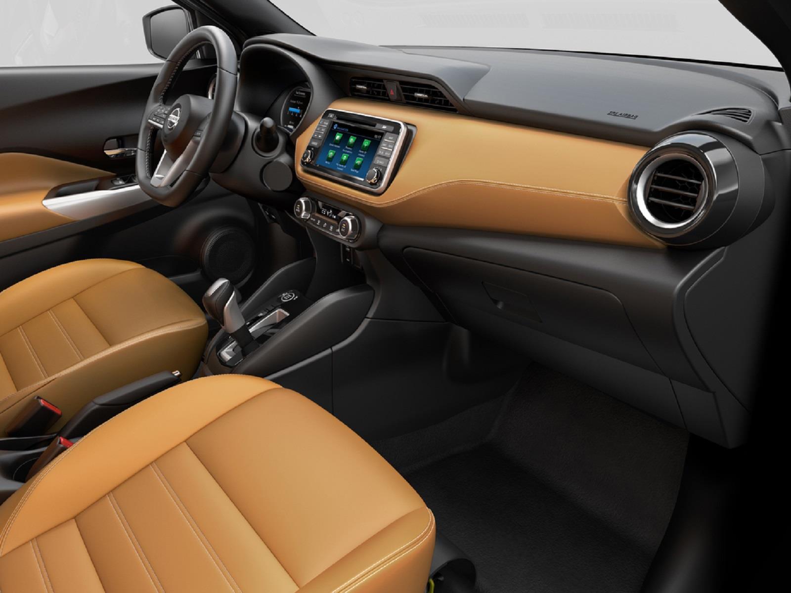Nissan Kicks 2017, primeras imágenes del interior ...