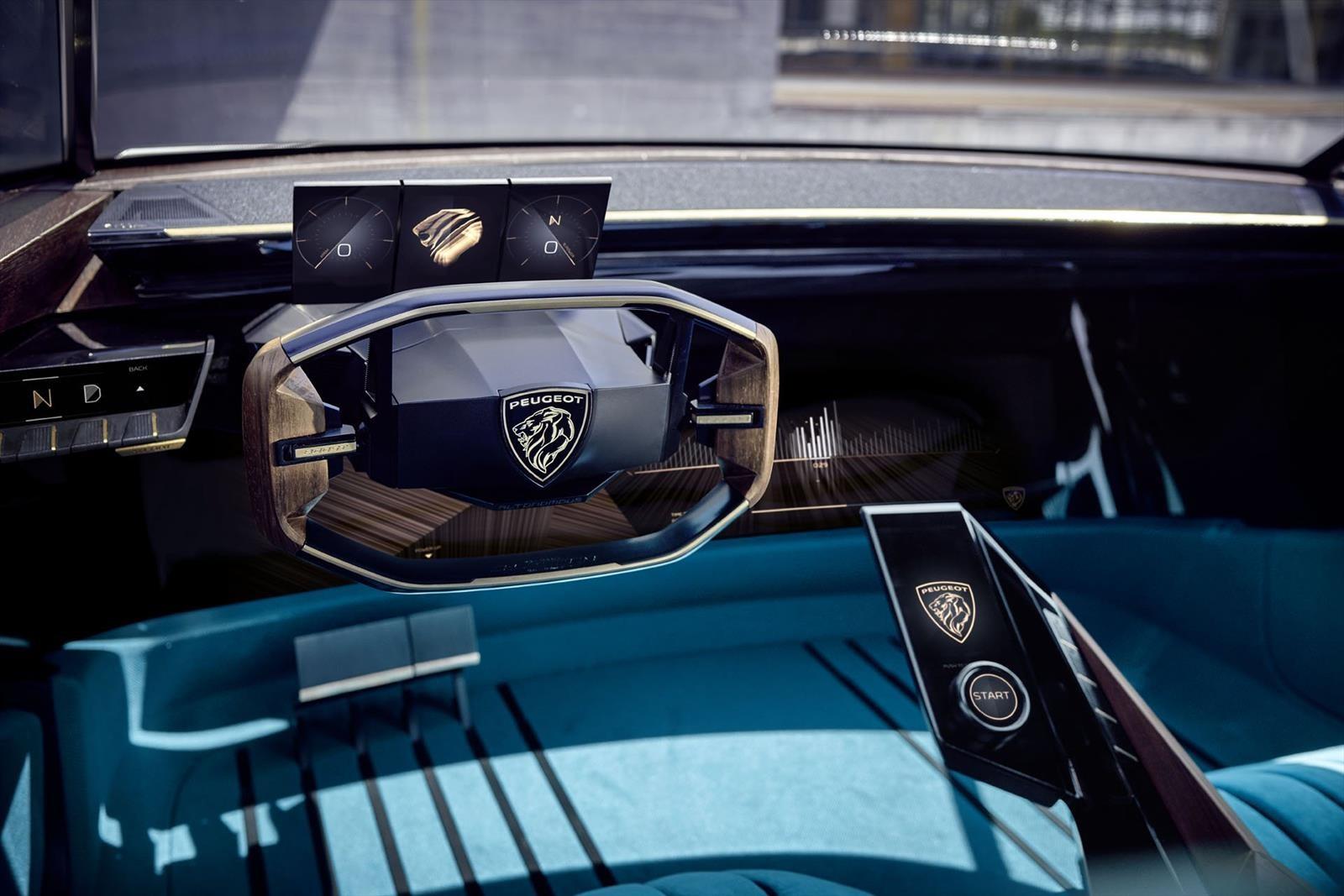 Peugeot Homenajea Al 504 Coupe Con El E Legend Autocosmos Com