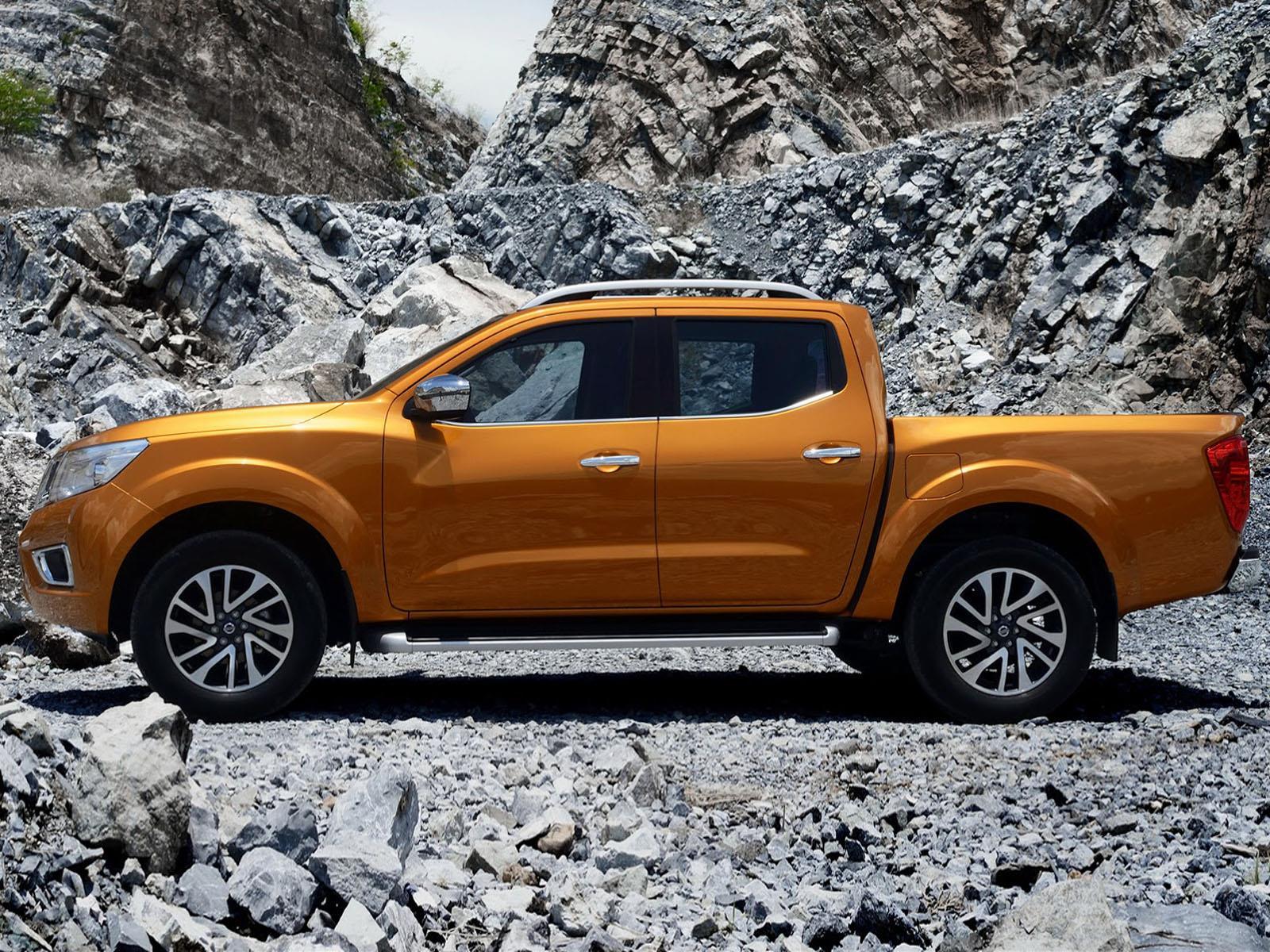 Nueva Nissan Frontier 2015, primeras imágenes - Autocosmos.com