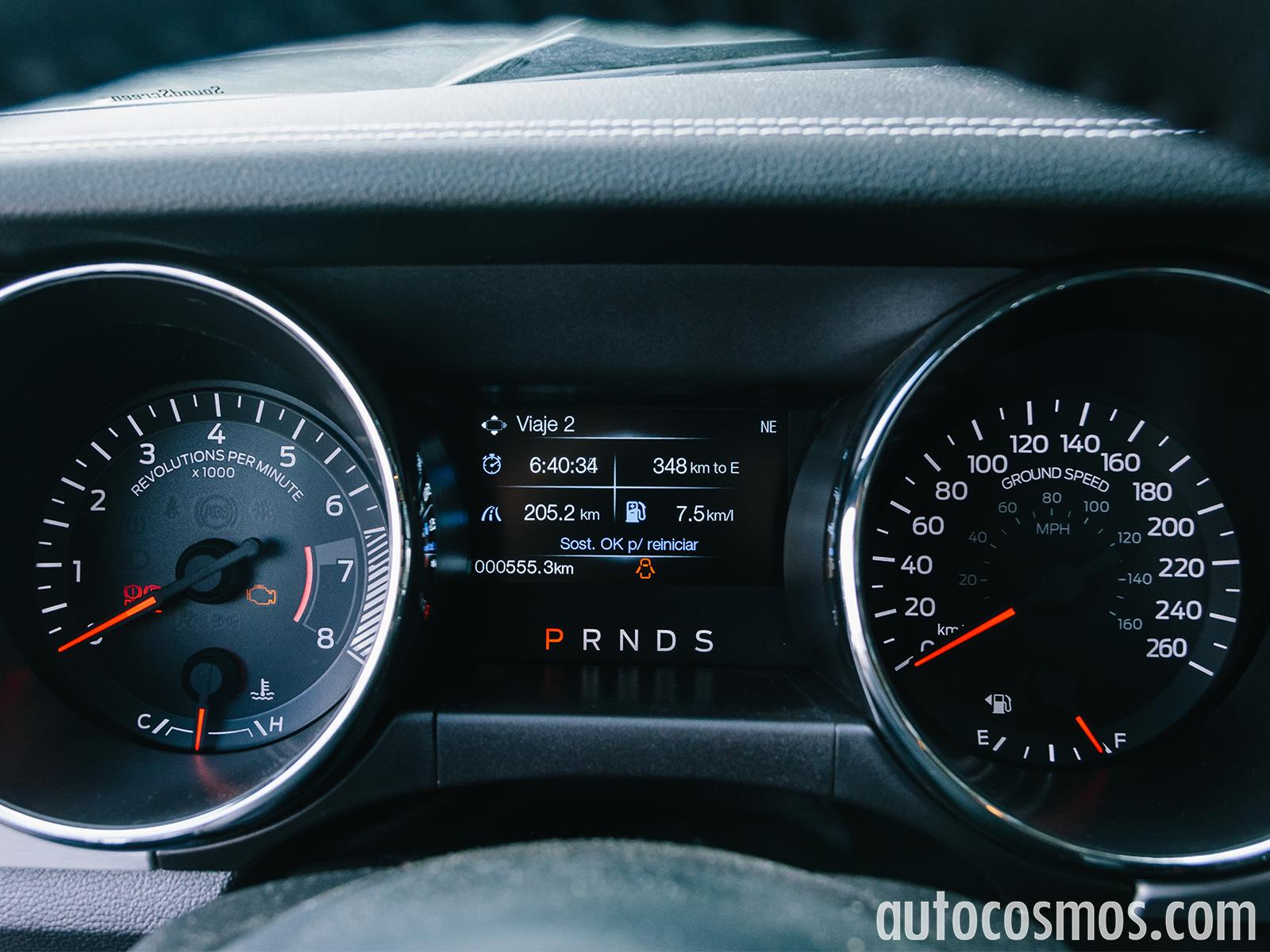 Ford Mustang EcoBoost 2016: Prueba de manejo - Autocosmos.com